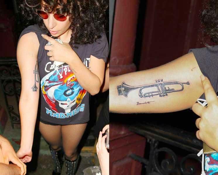 Qué tatuajes tiene Lady Gaga y qué significado tienen? | OHHMYGAGA