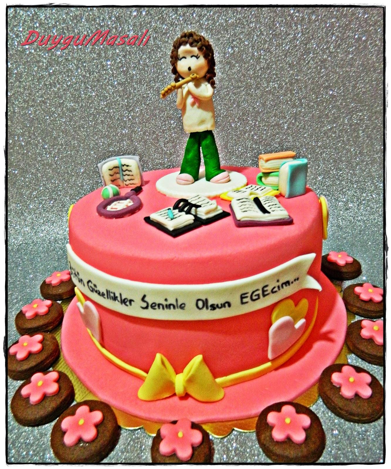 edirne kız çocuk doğum günü pasta