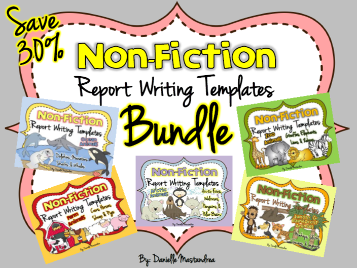 https://www.teacherspayteachers.com/Product/Animal-Reports-BUNDLE-PACK-Informational-Non-Fiction-Report-Writing-678739