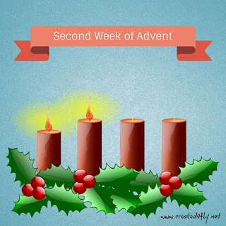 Looking Forward to My Savior's Birth, Week 2 | www.created2fly.net