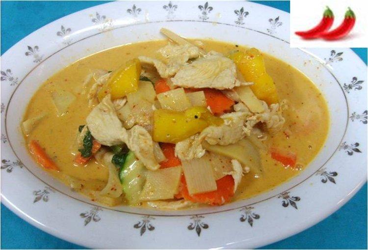 3sisters: Thai Mango Chicken Curry