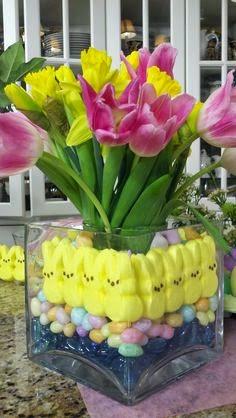 Centro de Mesa, Pascua