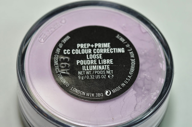 MAC CC Colour Correct Loose Powder in Illuminate