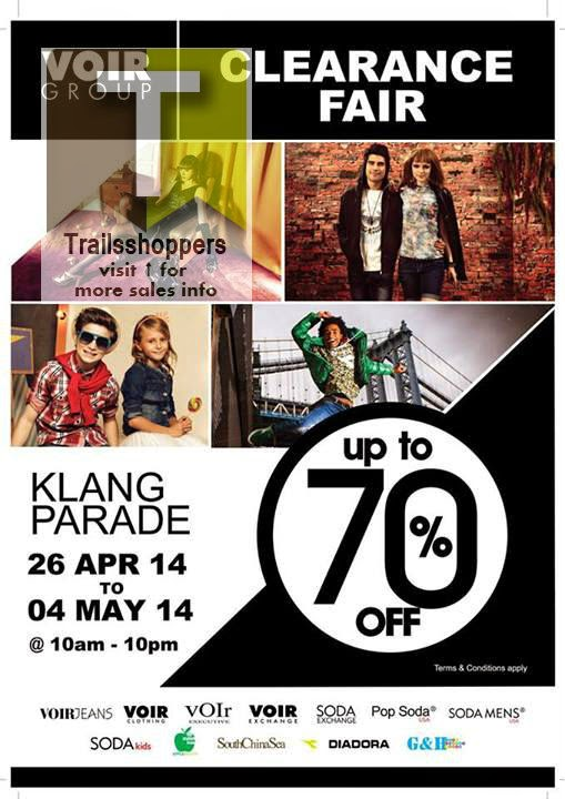 Voir Group Clearance Sale Klang Malaysia
