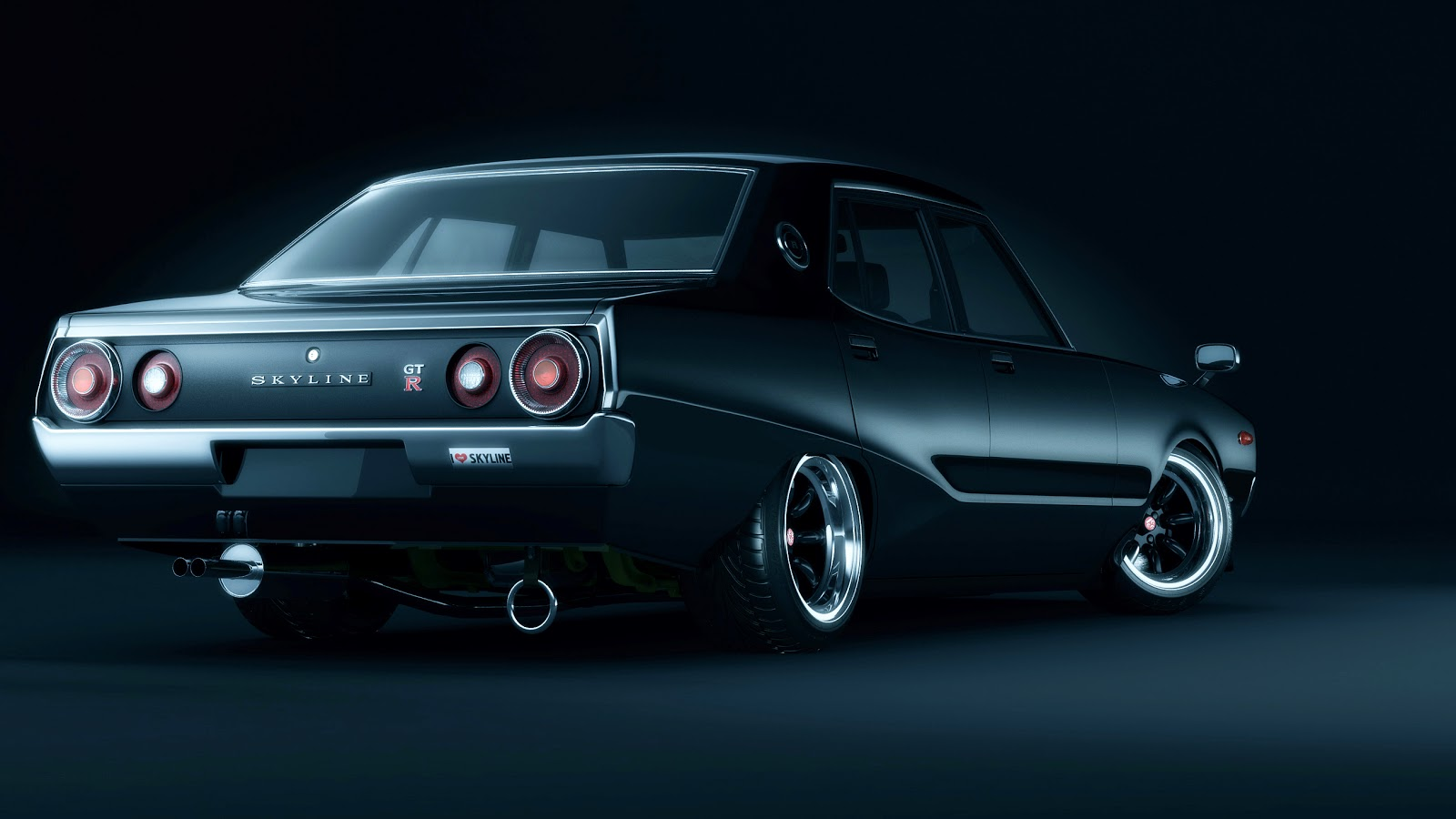 1974 Nissan Skyline Cg110 on old cars 30s 40s 50s and 60s