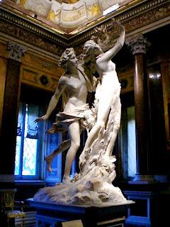 Escultura Apolo e Dafne