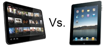 iPad vs Motorola Xoom