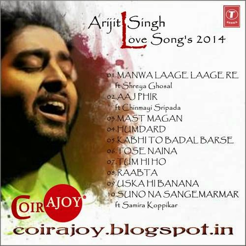 Coir: Arijit Singh - LOVE SONG'S - Hindi Album'2014 | 500 x 500 jpeg 54kB