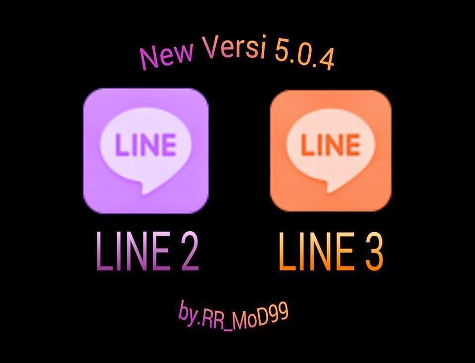 LINE Messenger Clone/LINE2 dan LINE3 Versi 5.0.4 Terbaru