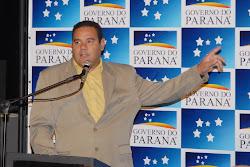 Marcão discursa na Escolinha de Governo