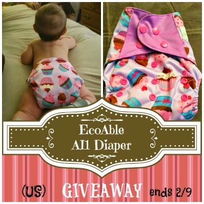 EcoAble All-in-1 Diaper