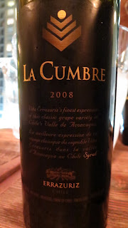 Wine Review of 2008 Errázuriz La Cumbre