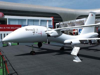 UAE 's United 40 Block 5 UAV