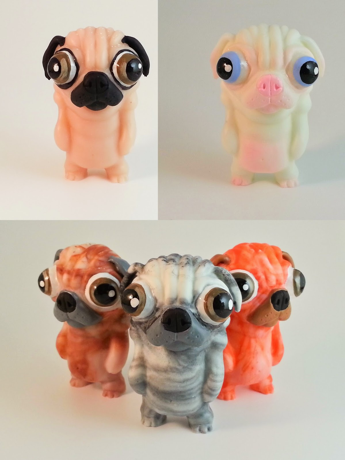 Puggo Resin Figure by Motorbot - Standard Edition, Albino Edition & Blind Bag Edition