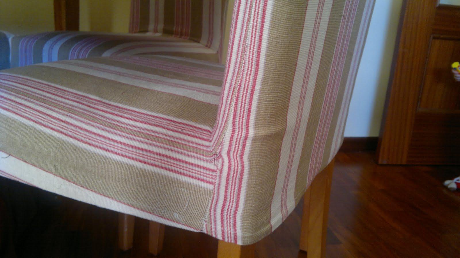 Fundas para las sillas de comedor costura - Fundas asiento sillas comedor ...