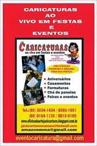 CARICATURAS AO VIVO EM FESTAS E EVENTO