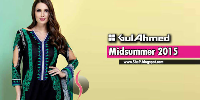 Gul Ahmed Mid Summer Designs