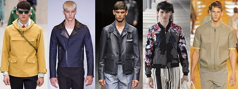 Men's Jackets Fashion Trends For Spring 2014