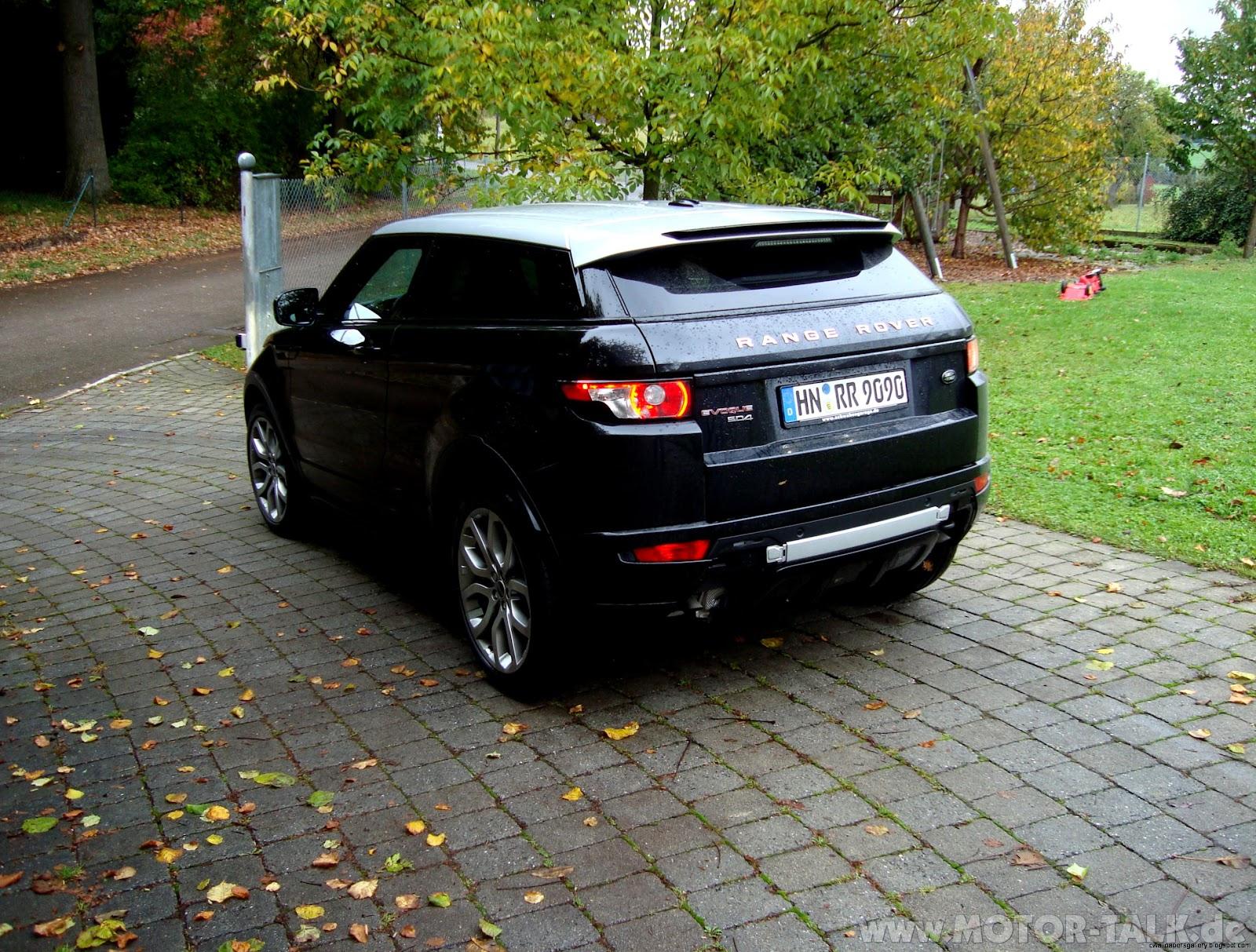 Dsc05950  Evoque TD4 in Baltic Blue abgeholt  Range Rover Evoque