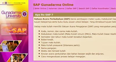 SAP Universitas Gunadarma