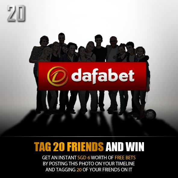Win the biggest prizes from Dafabet Sportsbook!