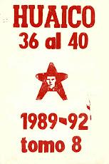 TOMO 8. Nros 36 al 40. San Salvador de Jujuy. 1992 (27 x 18,5 cm)