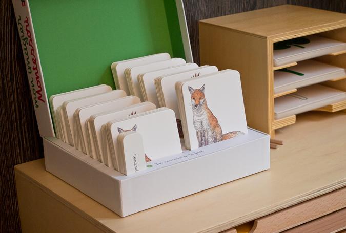 Mon imagier Montessori : Coffret avec 150 cartes