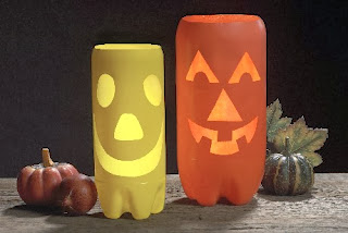 Halloween, Monstruos y Muñecos, Recicla