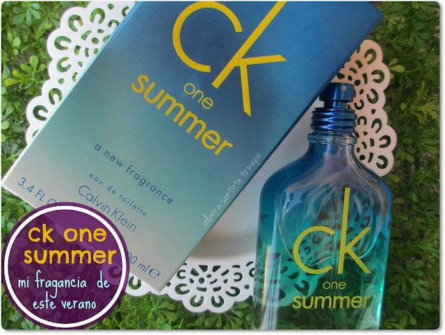 Mi fragancia del verano: CK SUMMER 2015