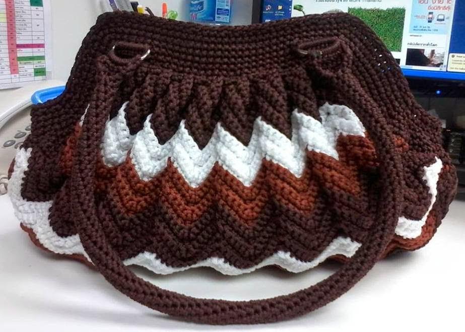 Сумки вязание крючком