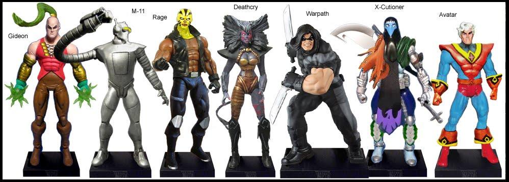 <b>Wave 45</b>: Gideon, M-11, Rage, Deathcry, Warpath, X-Cutioner and Avatar
