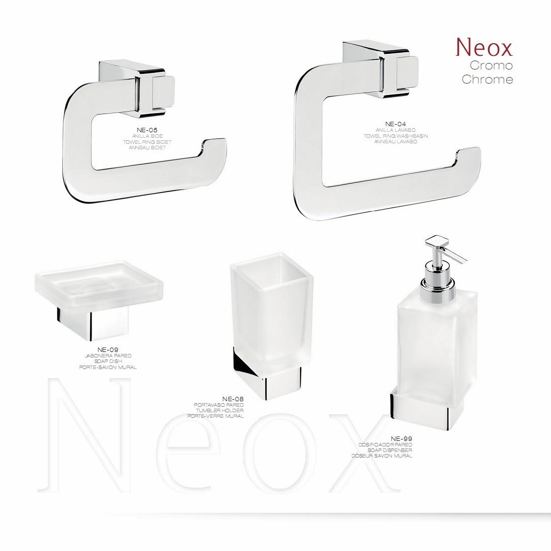 accesorio de baño NEOX diseño