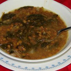 Adas Bil Hamod (Lebanese Lentil Lemon Soup) Recipe