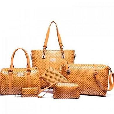 MULTI FUNCTION BAG (6 IN 1 SET) - YELLOW