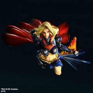 Square Enix Play Arts Kai DC Variants Supergirl Figure