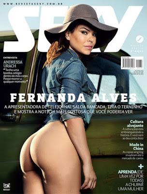 Revista Sexy: Fernanda Alves Outubro 2015