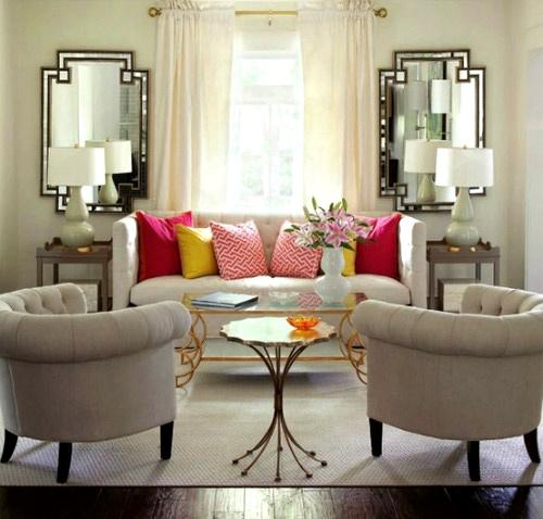 Hướng dẫn bố trí tivi cho phòng khách có Sofa 5