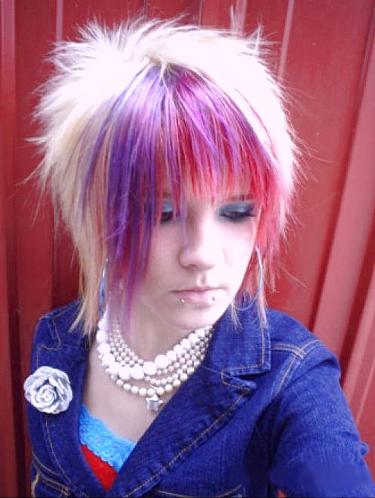 Cute emo haircuts for short hair
