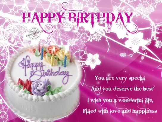 birthday cards wishes to flatter special ones  lovely birthday, Birthday card