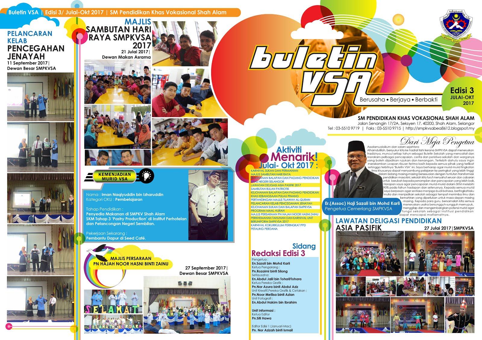 Buletin Edisi 3 (Julai-Oktober 2017)