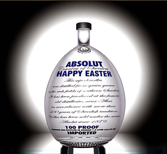 Publicidad Creativa, Pascua, Absolut Vodka