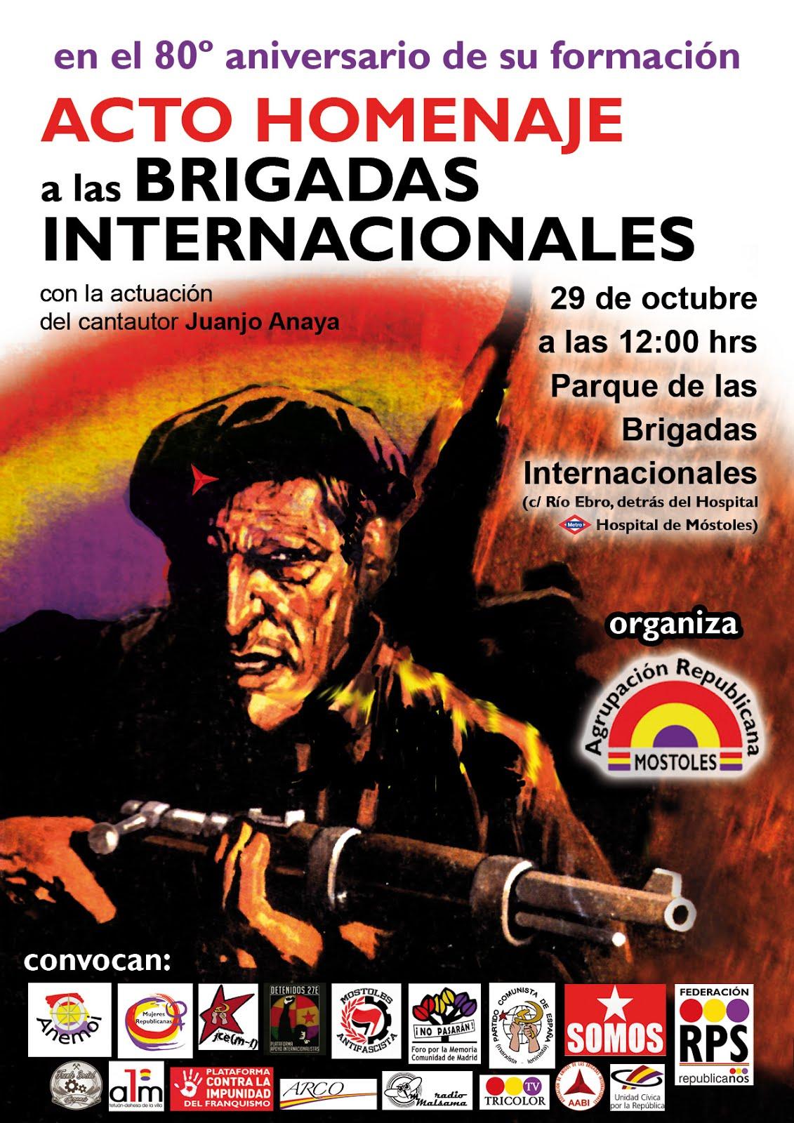 29 octubre Homenaje 80 aniversario BB II