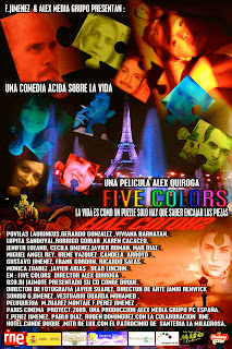 Five Colors Poster