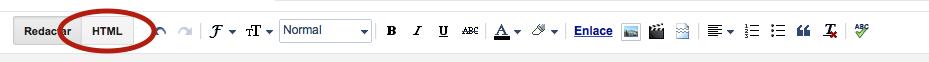 Botón HTML Blogger
