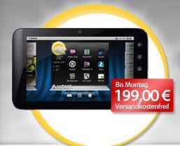 7-Zoll-Tablet Dell Streak 7 bei MeinPaket am Wochenende für 199 Euro inklusive Versandkosten