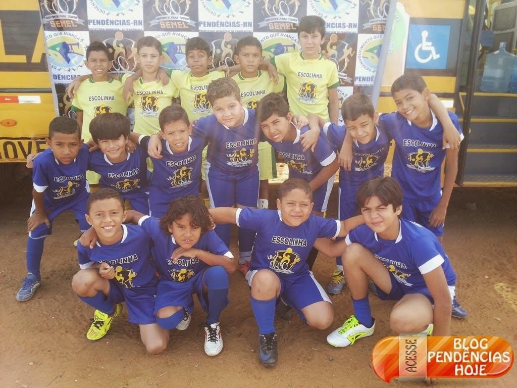 Alunos do Projeto Bom de Escola, Bom de Bola, vão enfrentar alunos do projeto Tigres em Mossoró RN