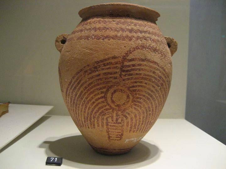 Antik Mısır Boyalı Keramik Hollanda, Leiden, Rijksmuseum