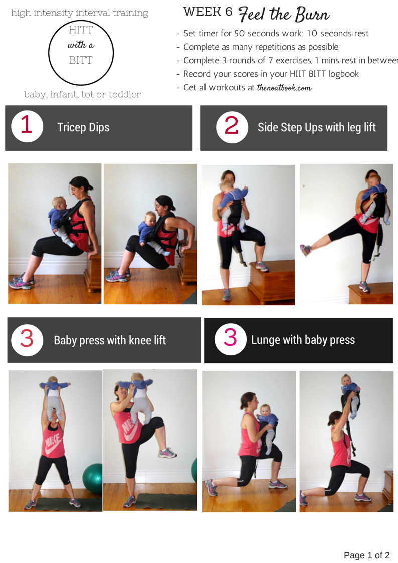 The Noatbook October 2014 Circuit Training Timer Technique Tips For New Exercises