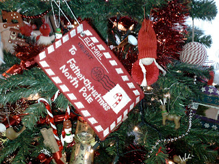 Christmas decorations, letter to santa