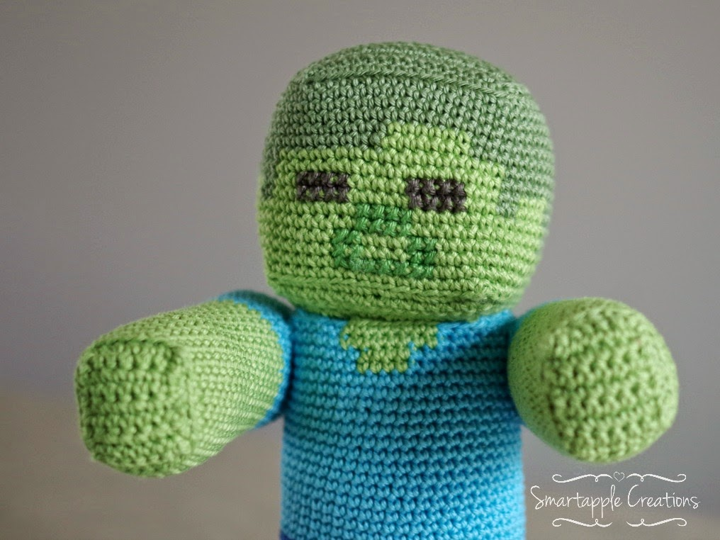 Amigurumi Zombie Pattern : Smartapple Creations - amigurumi and crochet: Minecraft ...